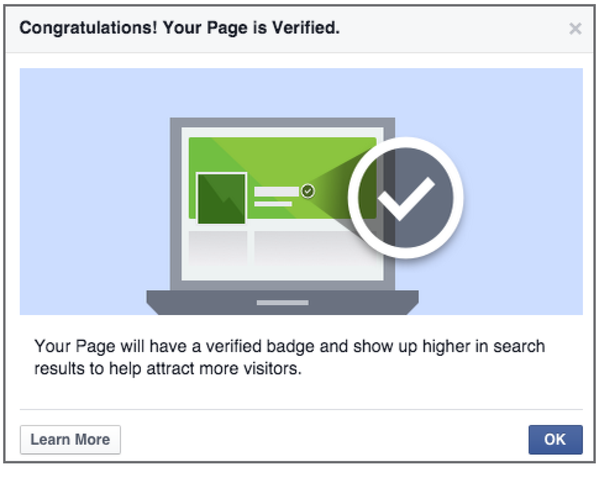 Verify your Facebook Business Page - Brkich Design Group