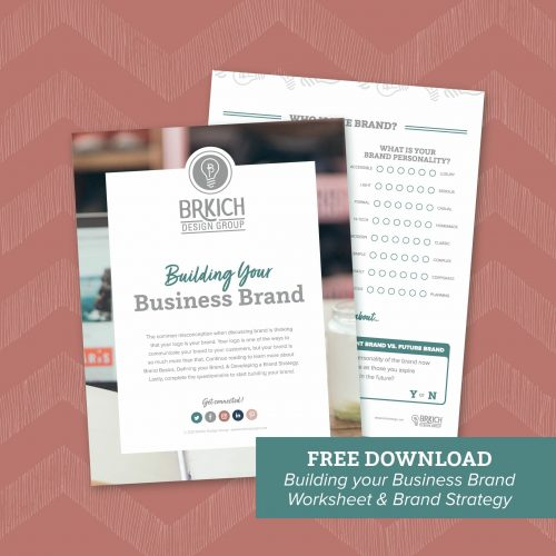 Building Your Brand Worksheet and Brand Strategy