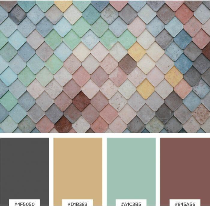 Brkich Design Group Color Palette for Logo / Graphic Design