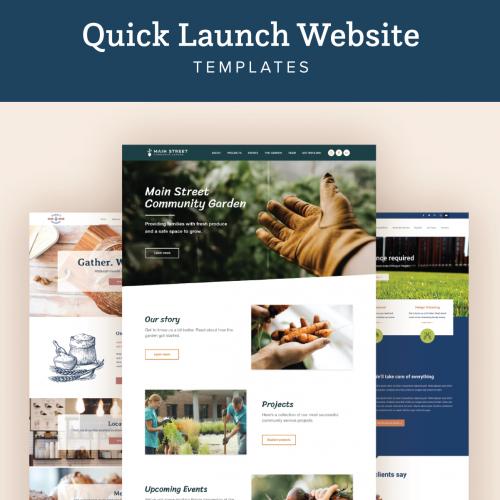 Quick Launch WebsiteTEMPLATES