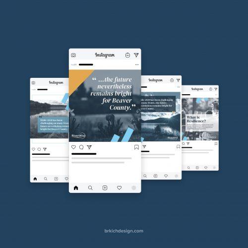 social media graphics - Canva templates